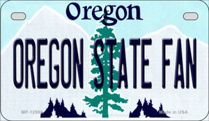 Oregon State Fan Wholesale Novelty Metal Motorcycle Plate MP-12986