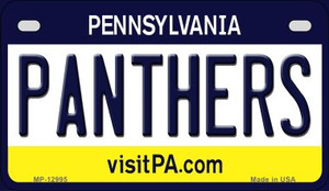 Panthers Wholesale Novelty Metal Motorcycle Plate MP-12995