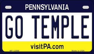 Go Temple Wholesale Novelty Metal Motorcycle Plate MP-12998