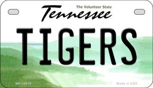 Tigers Wholesale Novelty Metal Motorcycle Plate MP-13019