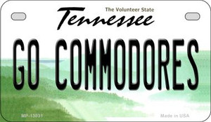 Go Commodores Wholesale Novelty Metal Motorcycle Plate MP-13031