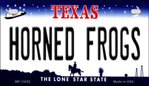 Horned Frogs Wholesale Novelty Metal Motorcycle Plate MP-13052