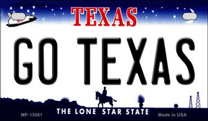 Go Texas Wholesale Novelty Metal Motorcycle Plate MP-13061