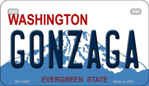 Gonzaga Wholesale Novelty Metal Motorcycle Plate MP-13087