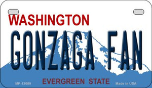 Gonzaga Fan Wholesale Novelty Metal Motorcycle Plate MP-13089