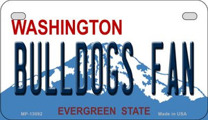 Bulldogs Fan Wholesale Novelty Metal Motorcycle Plate MP-13092