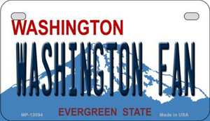 Washington Fan Wholesale Novelty Metal Motorcycle Plate MP-13094
