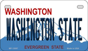 Washington State Wholesale Novelty Metal Motorcycle Plate MP-13097