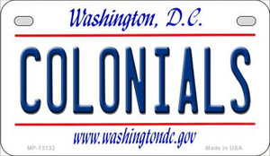 Colonials Wholesale Novelty Metal Motorcycle Plate MP-13132