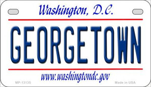 Georgetown Wholesale Novelty Metal Motorcycle Plate MP-13135