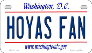 Hoyas Fan Wholesale Novelty Metal Motorcycle Plate MP-13140