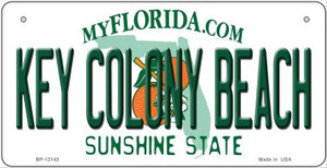 Key Colony Beach Florida Wholesale Metal Novelty Bicycle Plate BP-13143