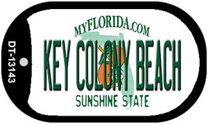 Key Colony Beach Florida Wholesale Metal Novelty Dog Tag Necklace DT-13143