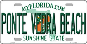 Florida Ponte Vedra Beach Wholesale Novelty Metal License Plate LP-11929