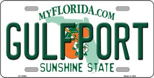 Florida Gulfport Wholesale Novelty Metal License Plate LP-12063