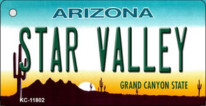 Arizona Star Valley Wholesale Novelty Metal Key Chain KC-11802