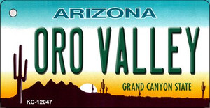 Arizona Oro Valley Wholesale Novelty Metal Key Chain KC-12047
