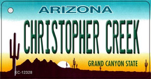 Arizona Christopher Creek Wholesale Novelty Metal Key Chain KC-12328