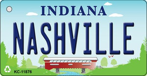 Indiana Nashville Wholesale Novelty Metal Key Chain KC-11876