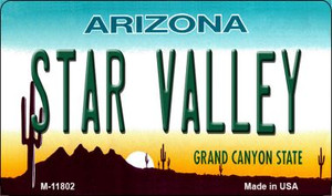 Arizona Star Valley Wholesale Novelty Metal Magnet M-11802