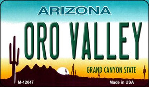Arizona Oro Valley Wholesale Novelty Metal Magnet M-12047