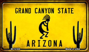 Arizona Kokopelli Wholesale Novelty Metal Magnet M-12308