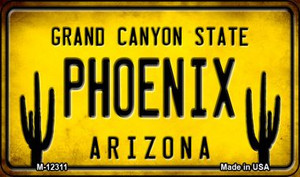 Arizona Phoenix Wholesale Novelty Metal Magnet M-12311