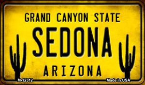 Arizona Sedona Wholesale Novelty Metal Magnet M-12312