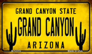 Arizona Grand Canyon Wholesale Novelty Metal Magnet M-12315