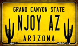 Arizona NJOY AZ Wholesale Novelty Metal Magnet M-12317