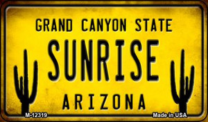 Arizona Sunrise Wholesale Novelty Metal Magnet M-12319