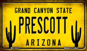 Arizona Prescott Wholesale Novelty Metal Magnet M-12321