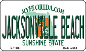 Florida Jacksonville Beach Wholesale Novelty Metal Magnet M-11926