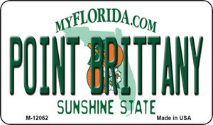 Florida Point Brittany Wholesale Novelty Metal Magnet M-12062