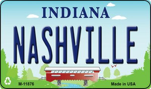 Indiana Nashville Wholesale Novelty Metal Magnet M-11876