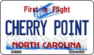 North Carolina Cherry Point Wholesale Novelty Metal Magnet M-12293