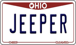 Ohio Jeeper Wholesale Novelty Metal Magnet M-12285