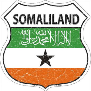 Somaliland Country Flag Highway Shield Wholesale Metal Sign