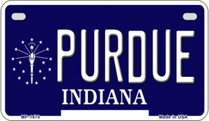 Indiana Purdue Wholesale Novelty Metal Motorcycle Plate MP-1470