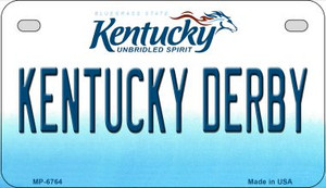 Kentucky Derby Wholesale Novelty Metal Motorcycle Plate MP-6764