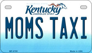 Kentucky Moms Taxi Wholesale Novelty Metal Motorcycle Plate MP-6785