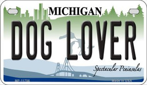 Michigan Dog Lover Wholesale Novelty Metal Motorcycle Plate MP-11756