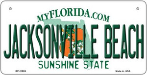 Florida Jacksonville Beach Wholesale Novelty Metal Bicycle Plate BP-11926