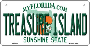 Florida Treasure Island Wholesale Novelty Metal Bicycle Plate BP-12055