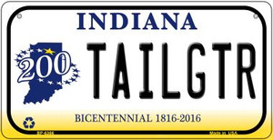Indiana Tailgtr Wholesale Novelty Metal Bicycle Plate BP-6366