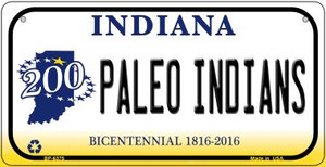 Indiana Paleo Indians Wholesale Novelty Metal Bicycle Plate BP-6375