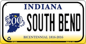 Indiana South Bend Wholesale Novelty Metal Bicycle Plate BP-6380