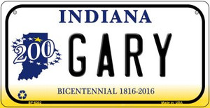 Indiana Gary Wholesale Novelty Metal Bicycle Plate BP-6382
