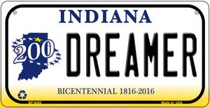 Indiana Dreamer Wholesale Novelty Metal Bicycle Plate BP-6402
