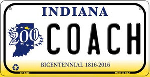 Indiana Coach Wholesale Novelty Metal Bicycle Plate BP-6408